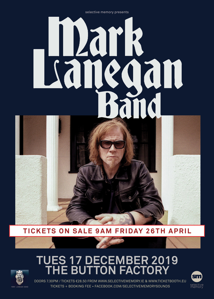 Mark Lanegan Band Sold Out Selective Memory