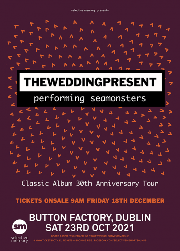 The Wedding Present Dublin